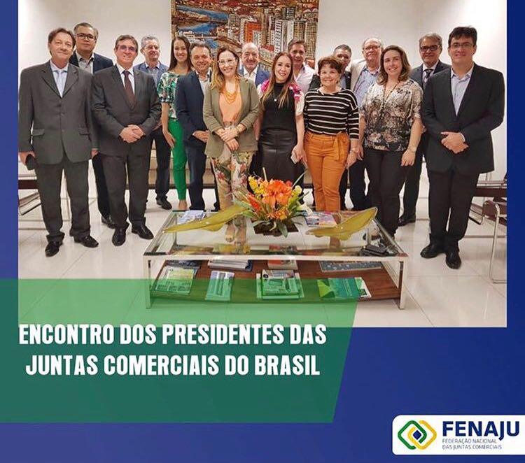 Fenaju reúne presidentes das Juntas Comerciais