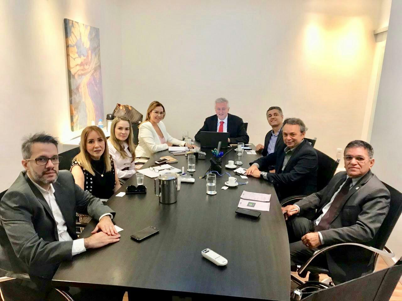 Fenaju participa de reuniões em Brasília