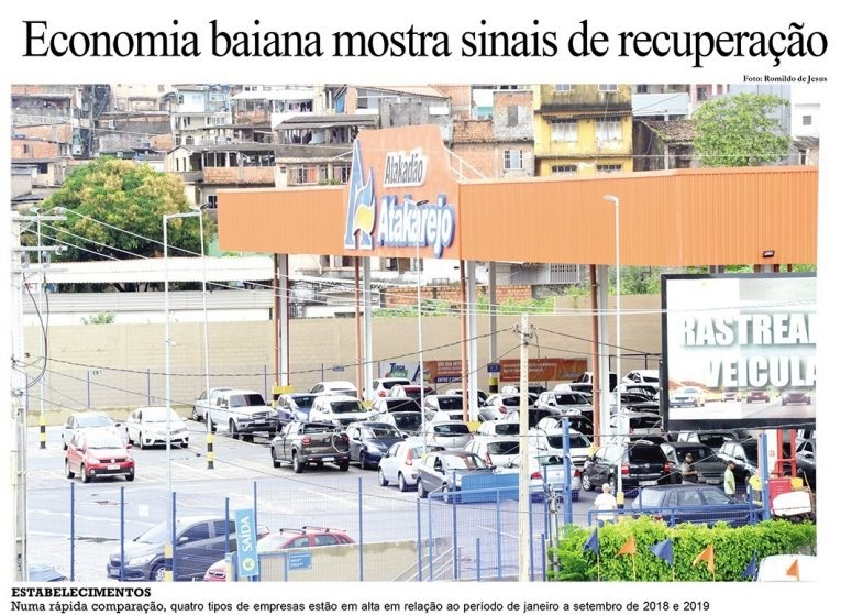 You are currently viewing Economia baiana mostra sinais de recuperação