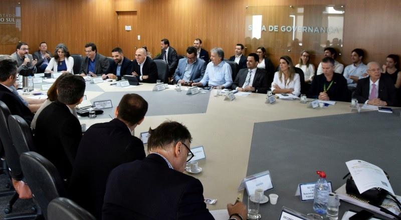 Presidente da JucisRS, Flávio Koch, durante reunião do Conselho de Desburocratização - Foto: Laiz Flores