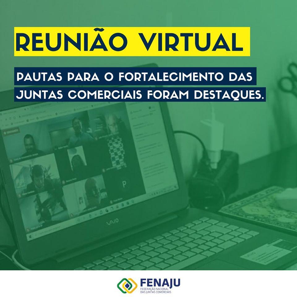 Reunião virtual – 08 de junho