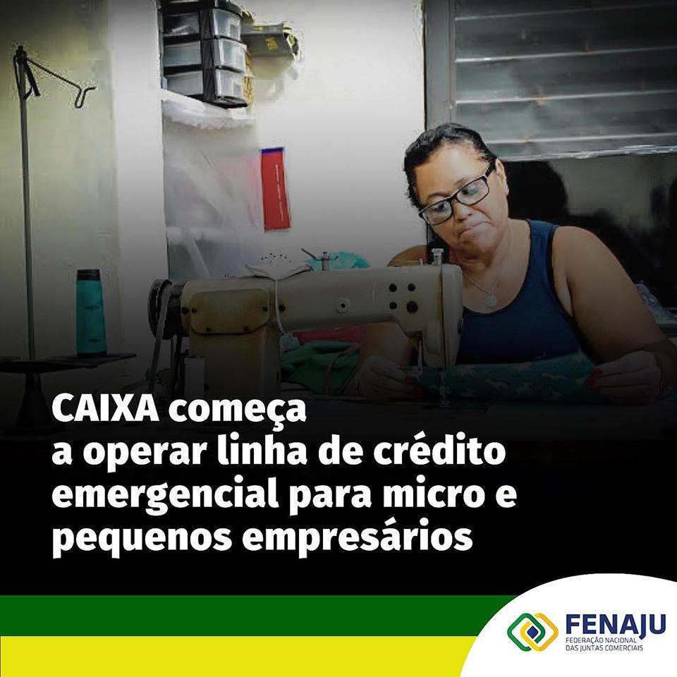 Caixa começa a operar linha de crédito emergencial para micro e pequenos empresários