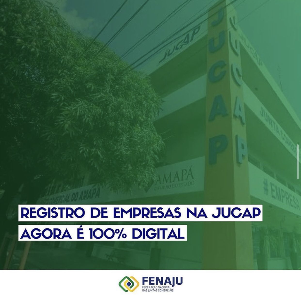 Registro digital de empresas na JUCAP é 100% digital