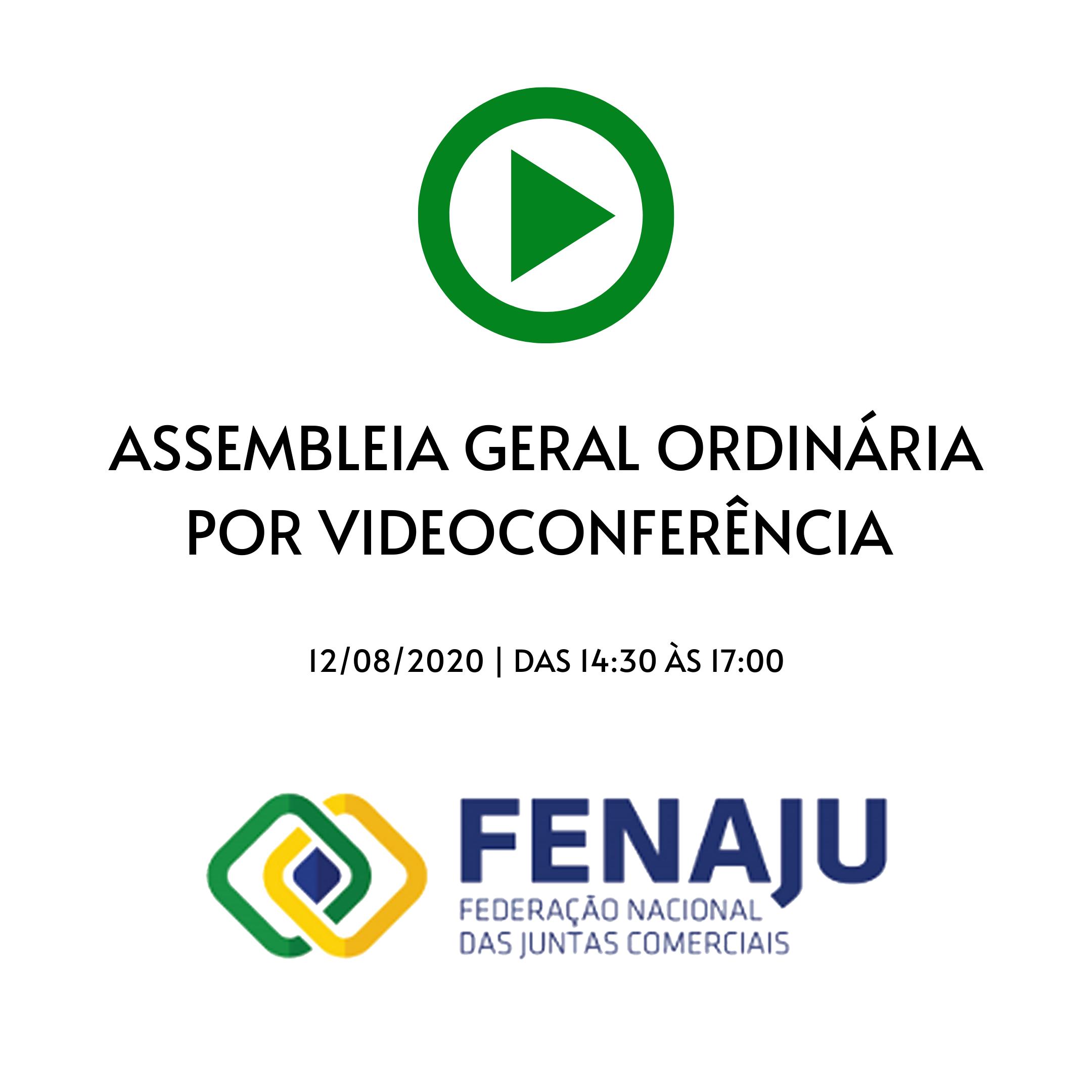 CONVOCAÇÃO – ASSEMBLEIA GERAL ORDINÁRIA – VIDEOCONFERÊNCIA