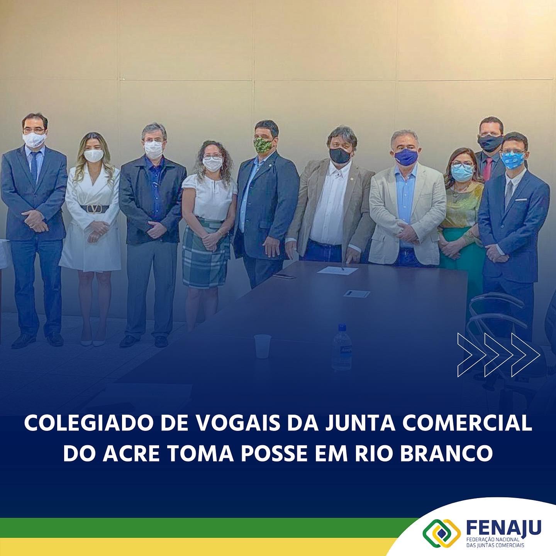 Read more about the article Colegiado de vogais da Junta Comercial do Acre toma posse em Rio Branco