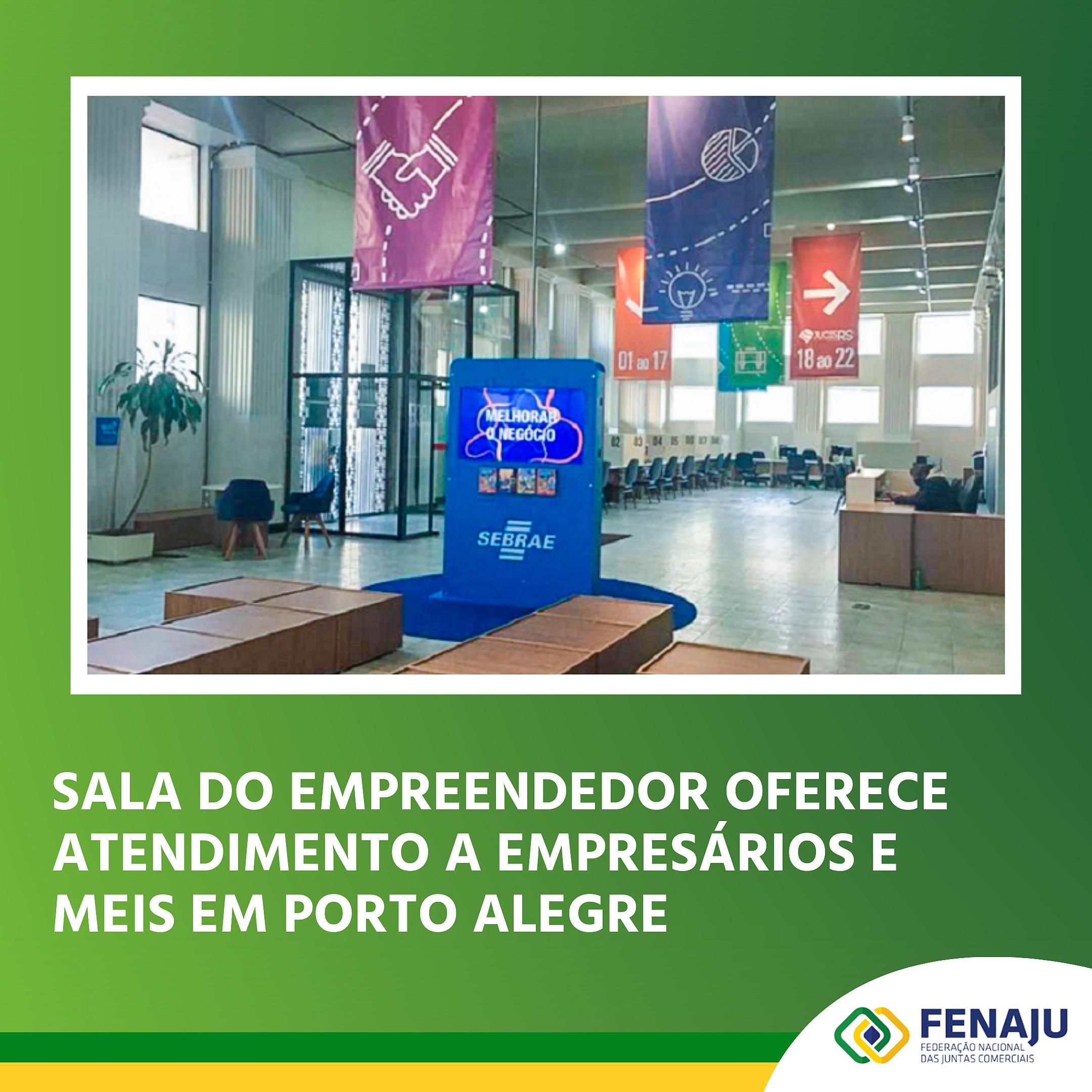 Sala do Empreendedor oferece atendimento a empresários e MEIs em Porto Alegre