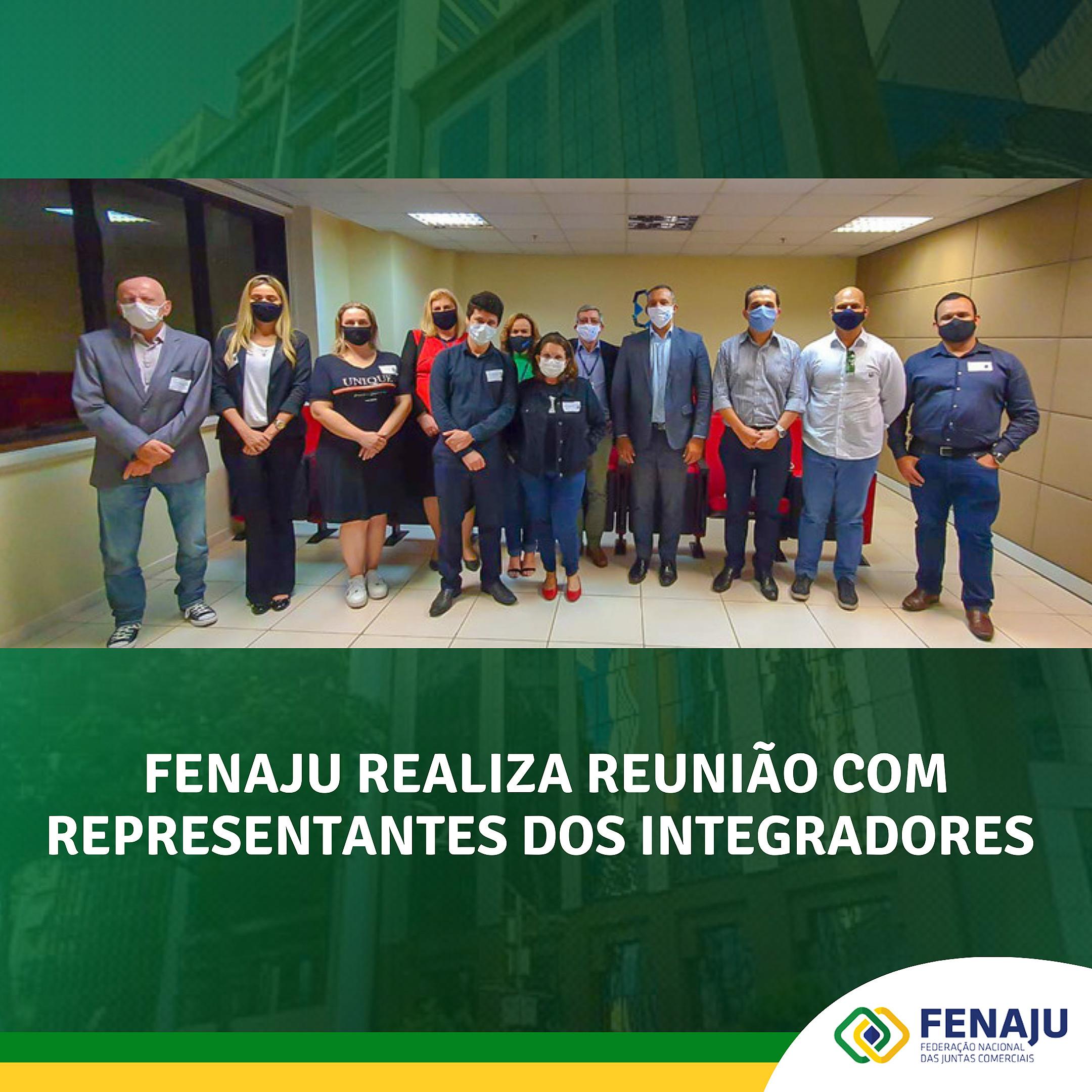 FENAJU realiza reunião com representantes dos integradores estaduais