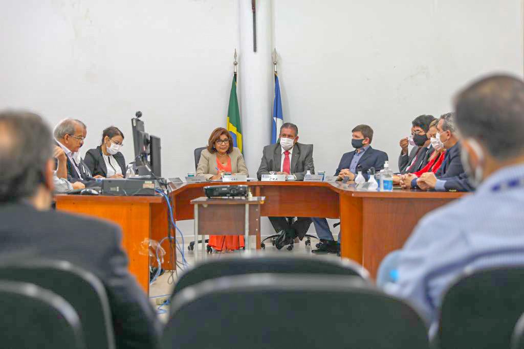 Sessão plenária encerra mandato de colegiado da Jucemat