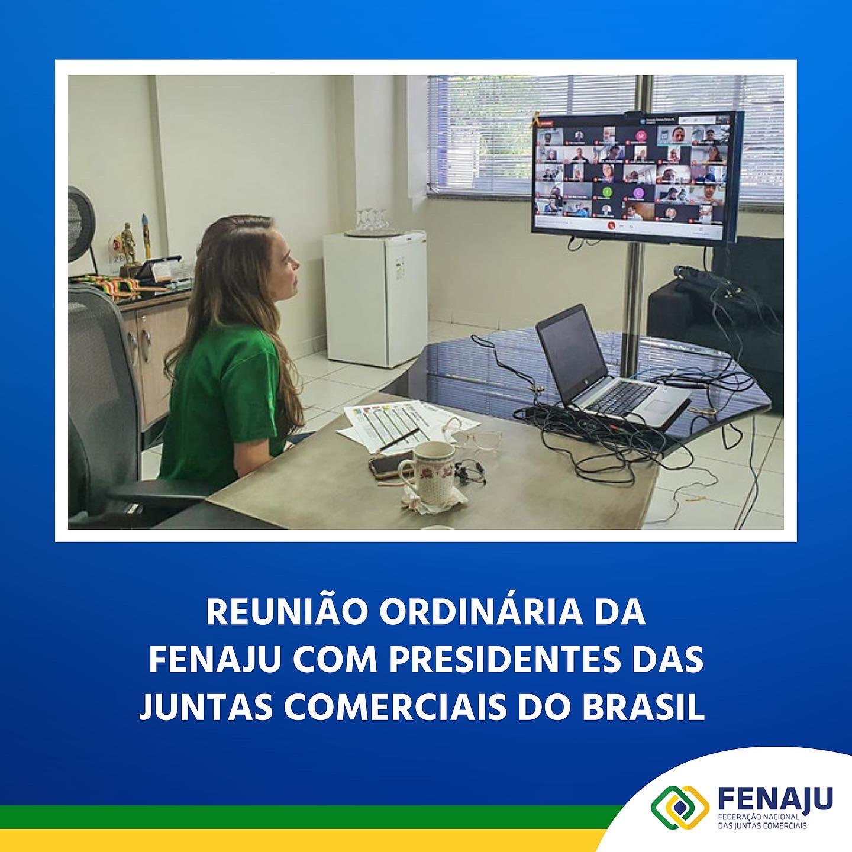Reunião Ordinária da FENAJU – 08/10