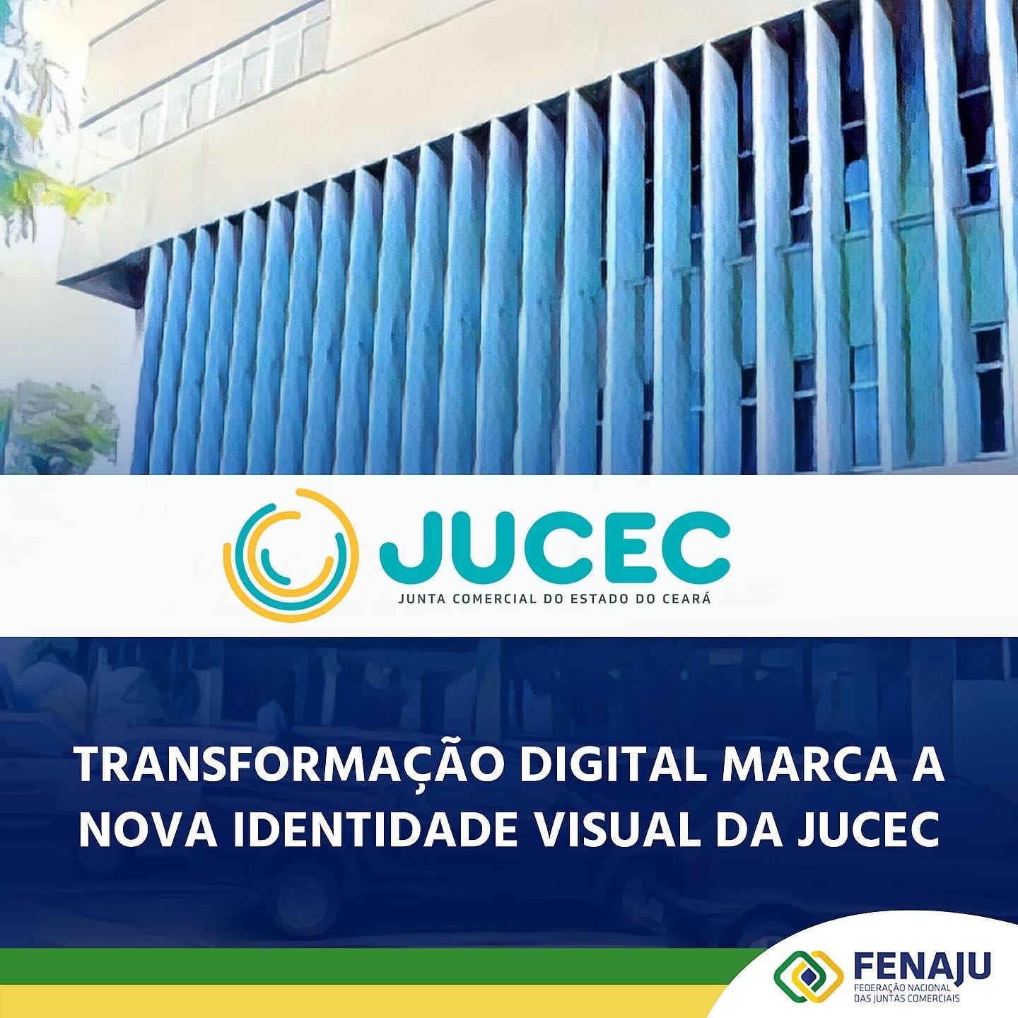 Read more about the article Nova identidade visual da JUCEC representa transformação digital vivenciada pela Autarquia