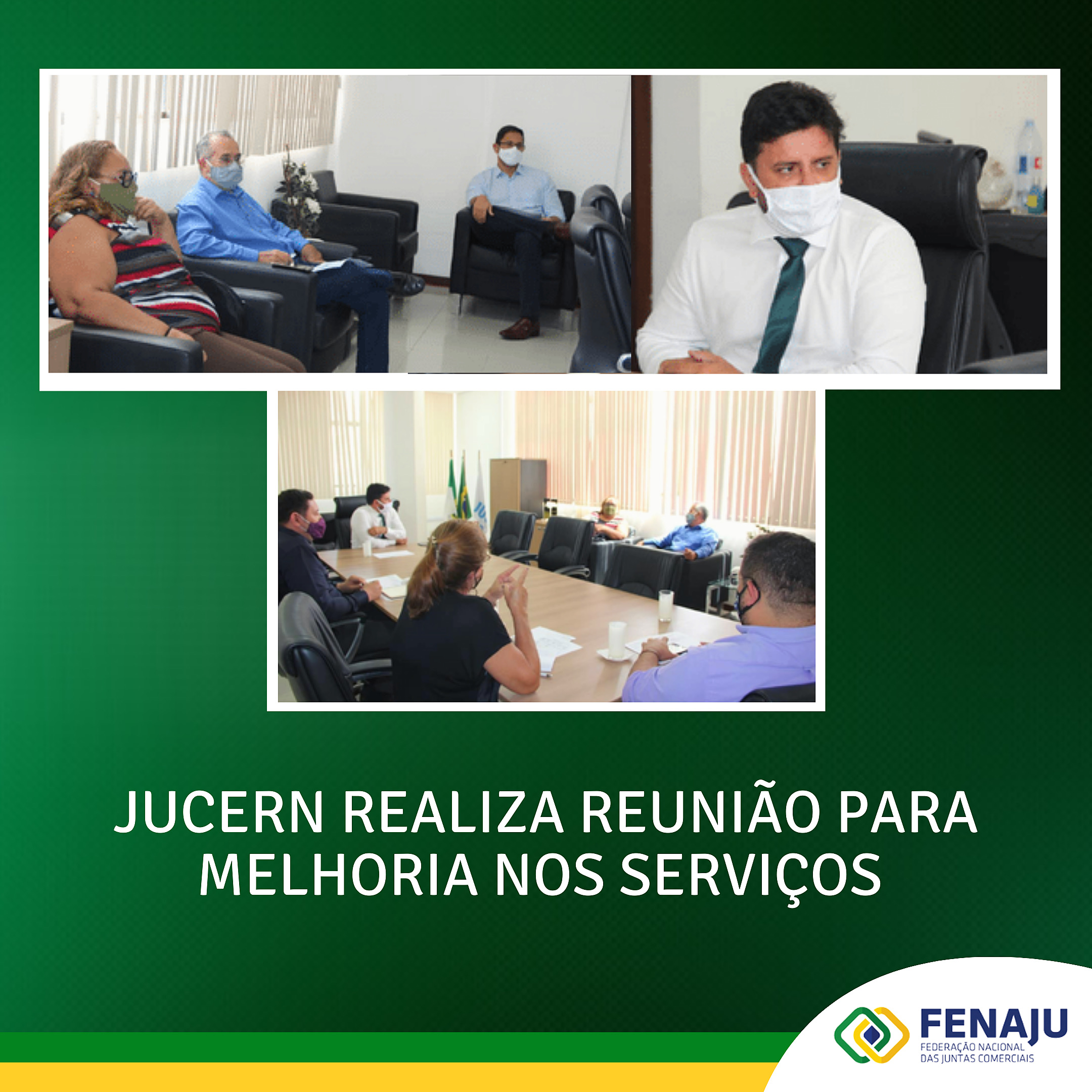 JUCERN realiza reunião para melhoria nos serviços