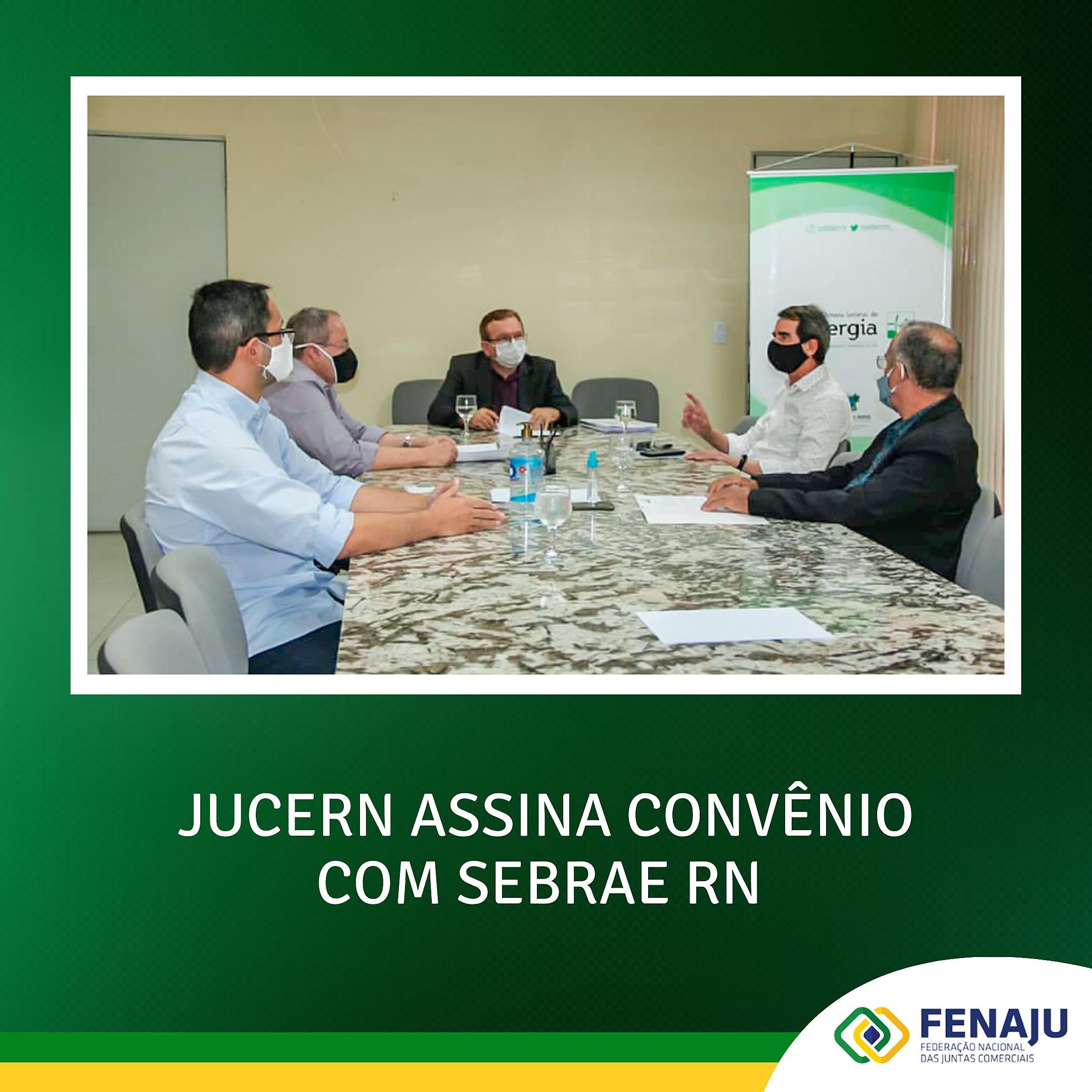 Read more about the article JUCERN assina convênio com SEBRAE RN