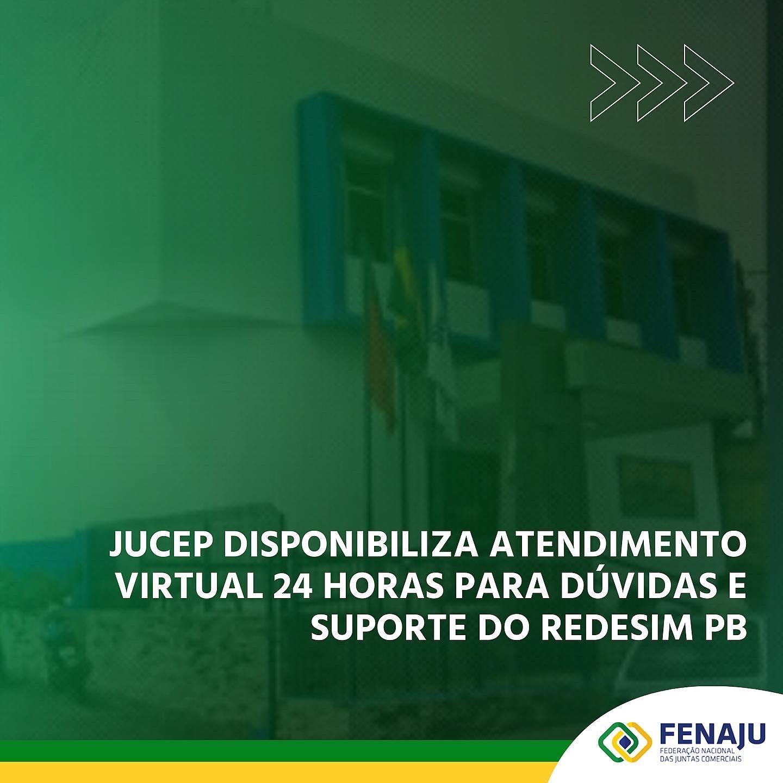 Jucep disponibiliza atendimento virtual 24 horas para dúvidas e suporte do Redesim PB