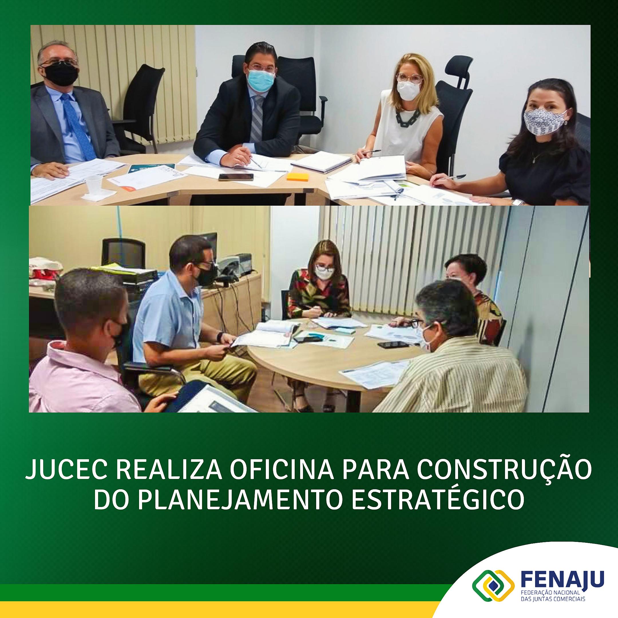 Jucec realiza oficina para construção do planejamento estratégico