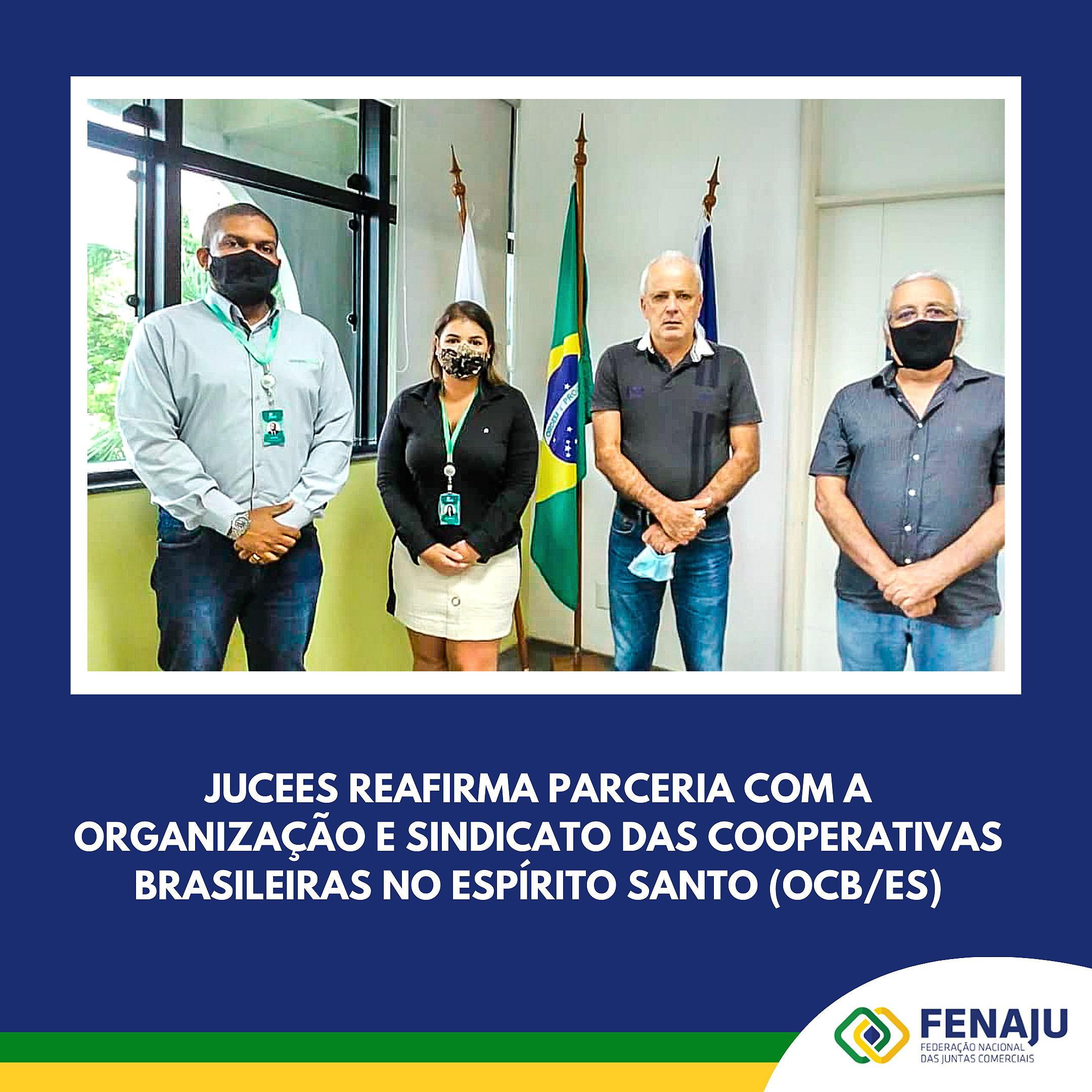 Read more about the article JUCEES inicia 2021 com reunião reafirmando a parceria com a OCB/ES