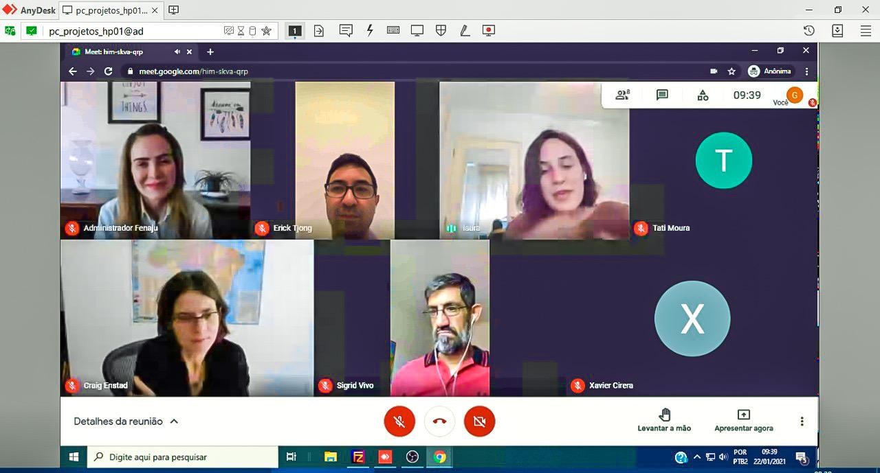 FENAJU participa de reunião com representantes do Banco Mundial