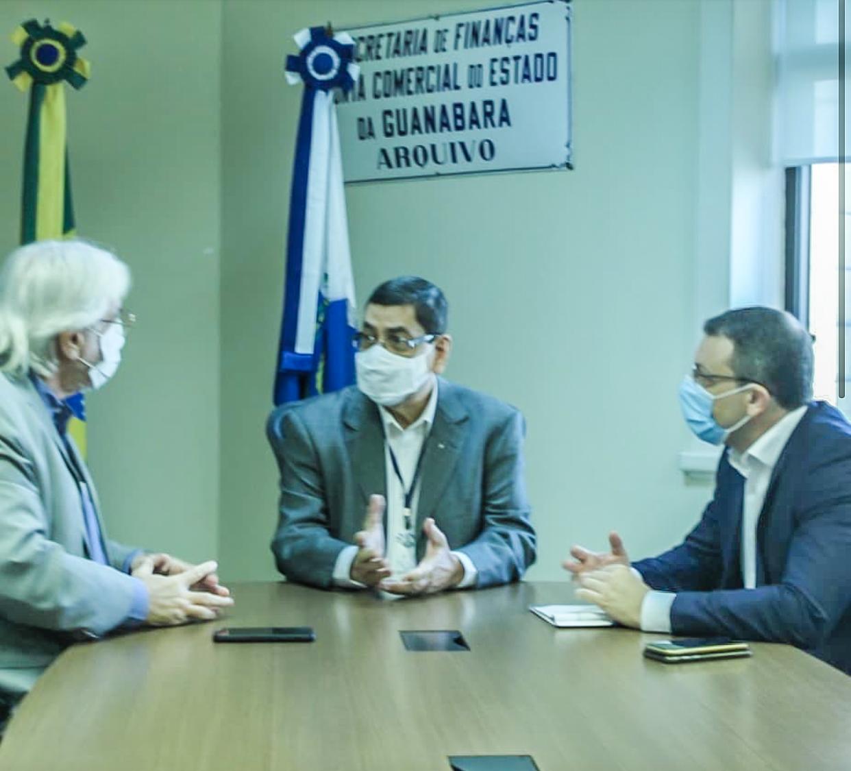 Novo presidente da JUCERJA participa de reuniões em seu primeiro dia no cargo