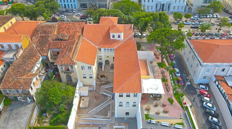 Obra de restauração do novo prédio da JUCEMA entra em fase final
