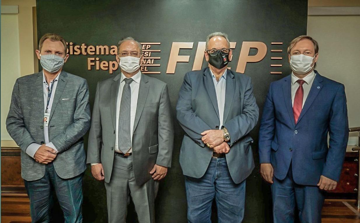 Jucepar visita Federação das Indústrias do Paraná