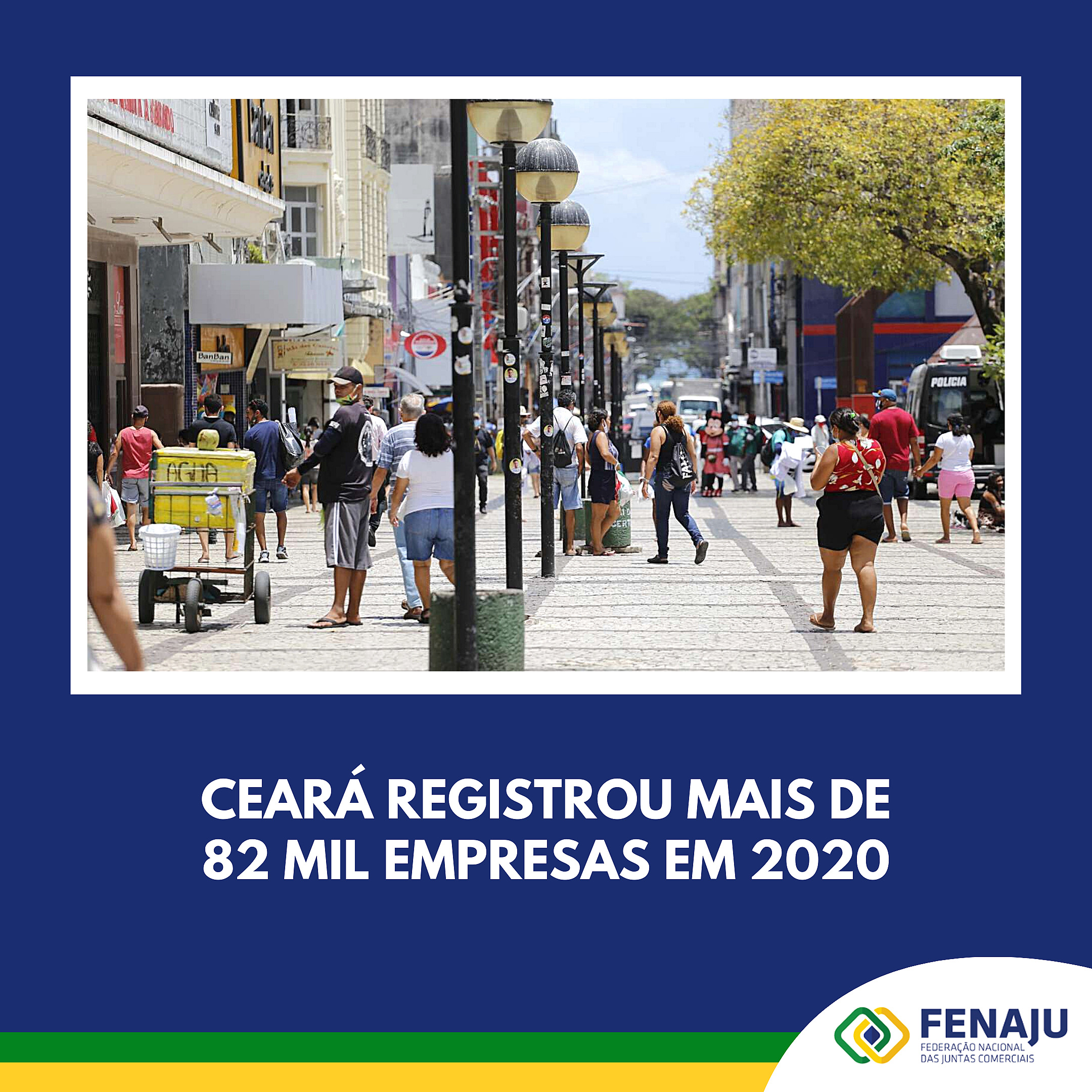 Ceará registrou mais de 82 mil empresas em 2020