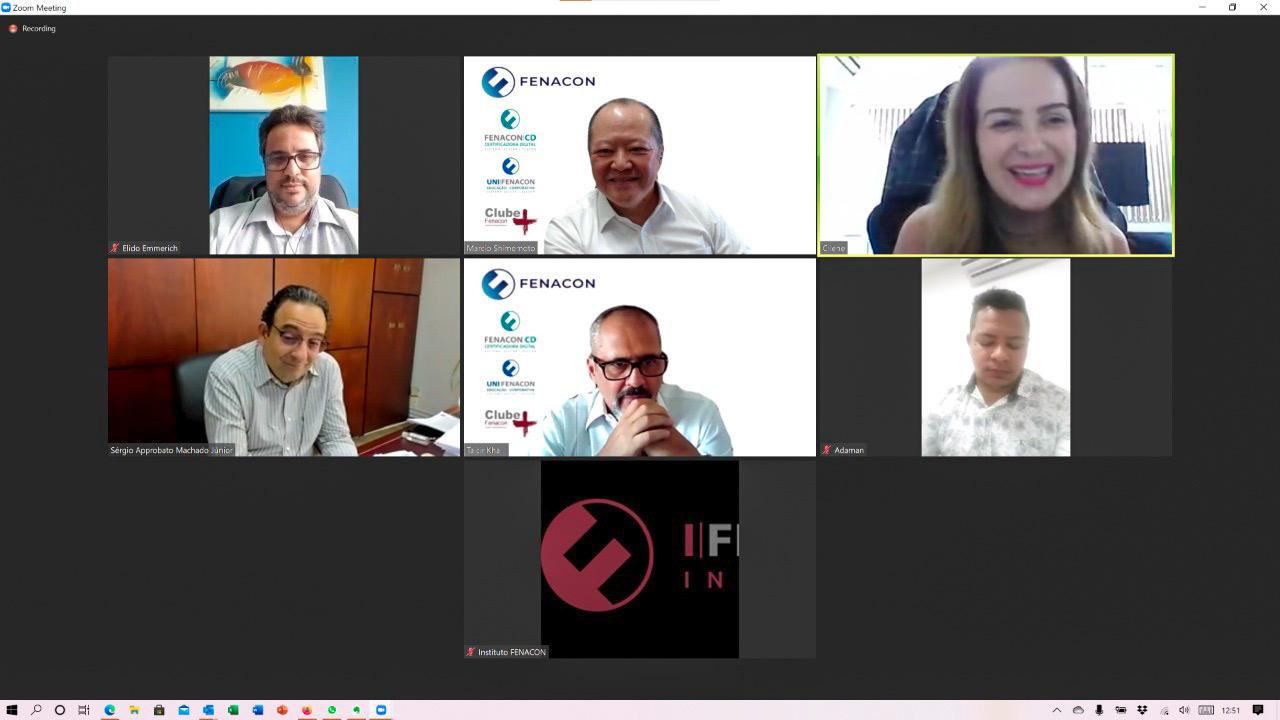 FENAJU participa de reunião com a FENACON