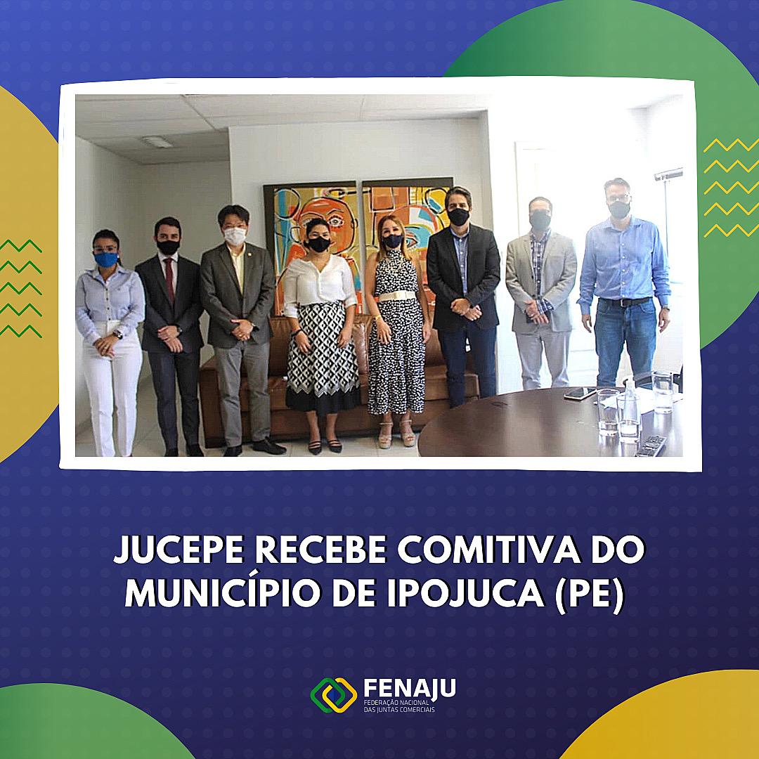 JUCEPE recebe comitiva do município de Ipojuca (PE)
