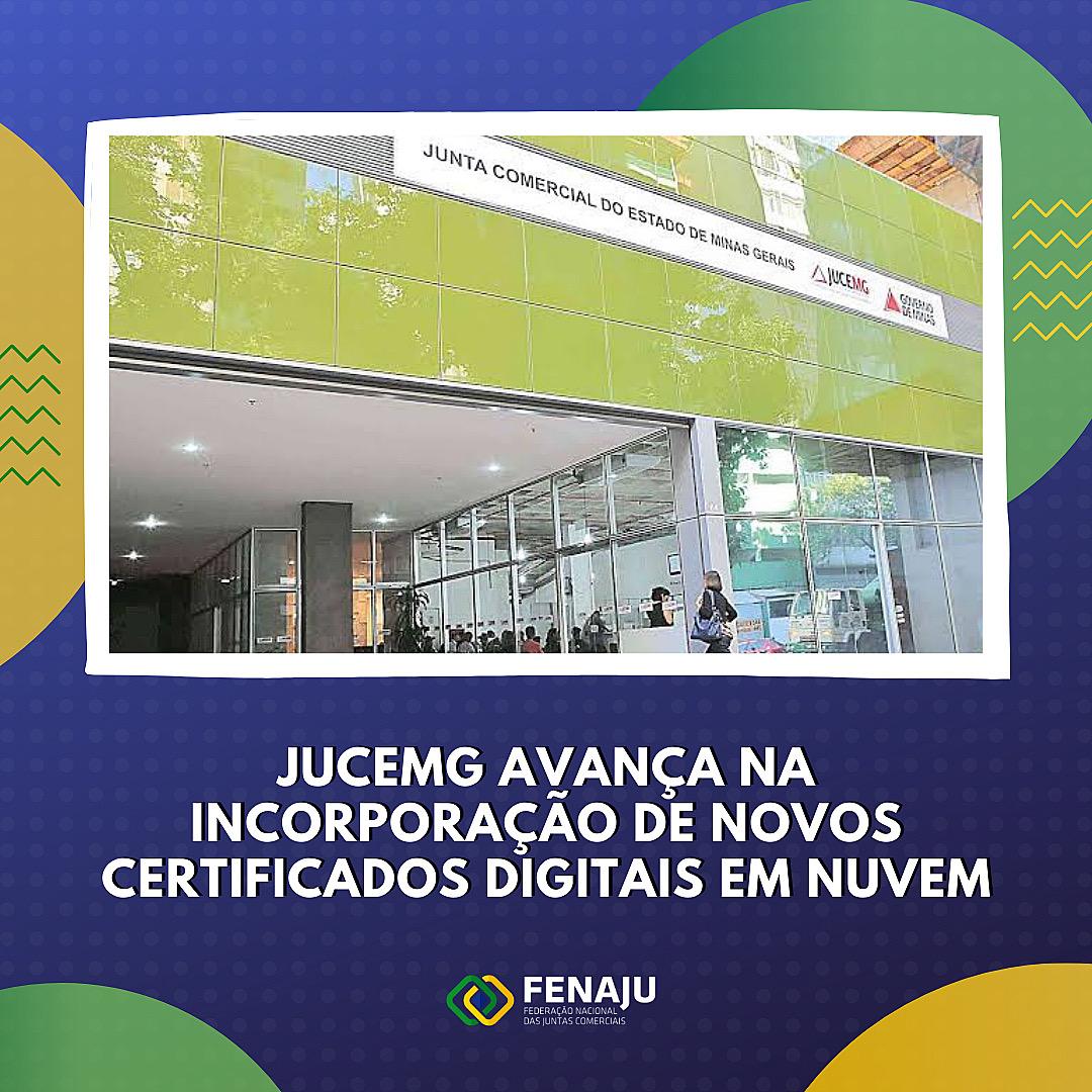 Read more about the article JUCEMG avança na incorporação de novos certificados digitais em nuvem
