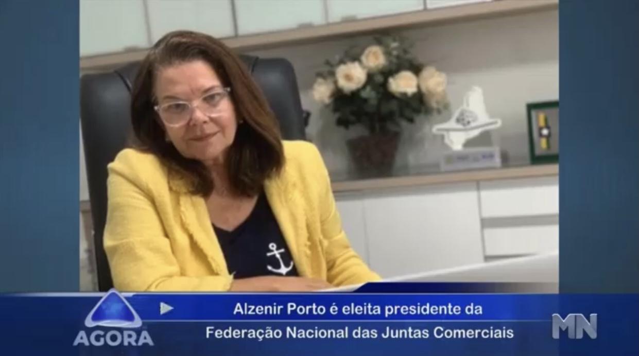 Tv Meio Norte destaca votação que elegeu Alzenir Porto como presidente da FENAJU