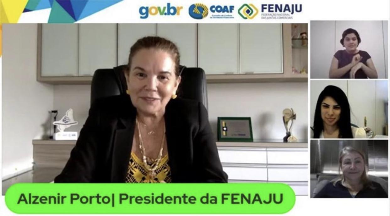 Read more about the article FENAJU participa de treinamento do COAF