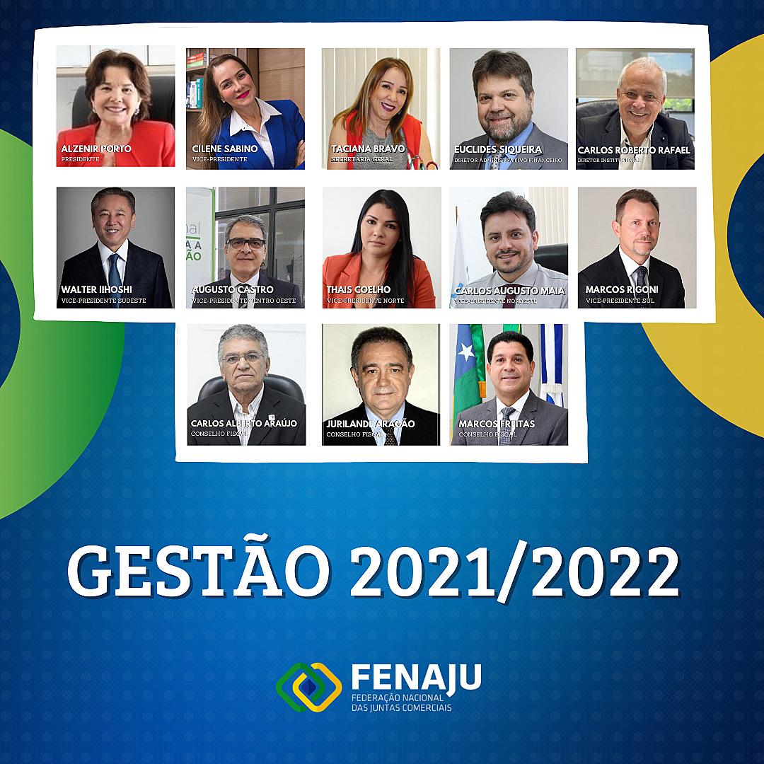 Read more about the article Diretoria da FENAJU (gestão 2021-2022)