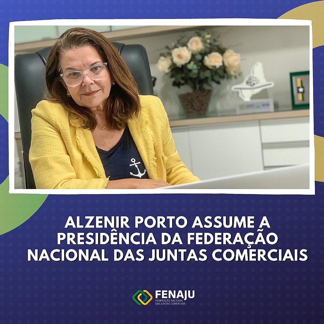 Read more about the article Alzenir Porto assume a presidência da Federação Nacional das Juntas Comerciais