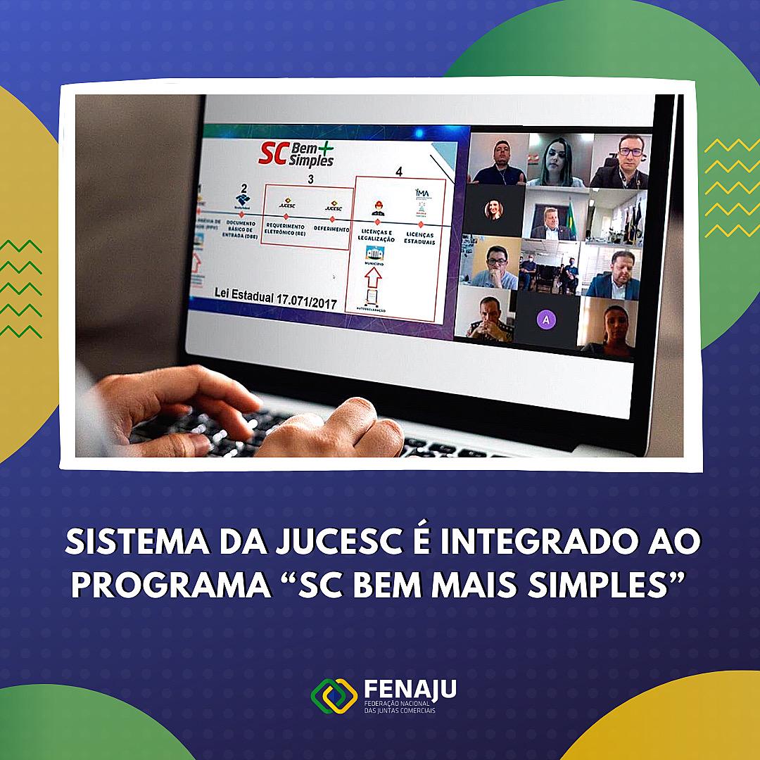 """You are currently viewing Sistema da JUCESC é integrado ao programa """"SC Bem Mais Simples"""""""