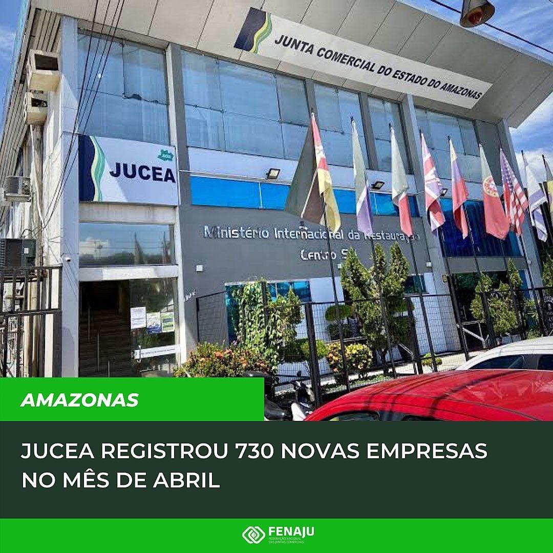 Read more about the article JUCEA registrou 730 novas empresas no mês de abril