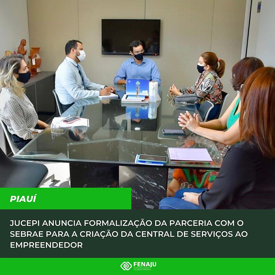 Read more about the article JUCEPI anuncia formalização da parceria com o Sebrae para a criação da Central de Serviços ao Empreendedor
