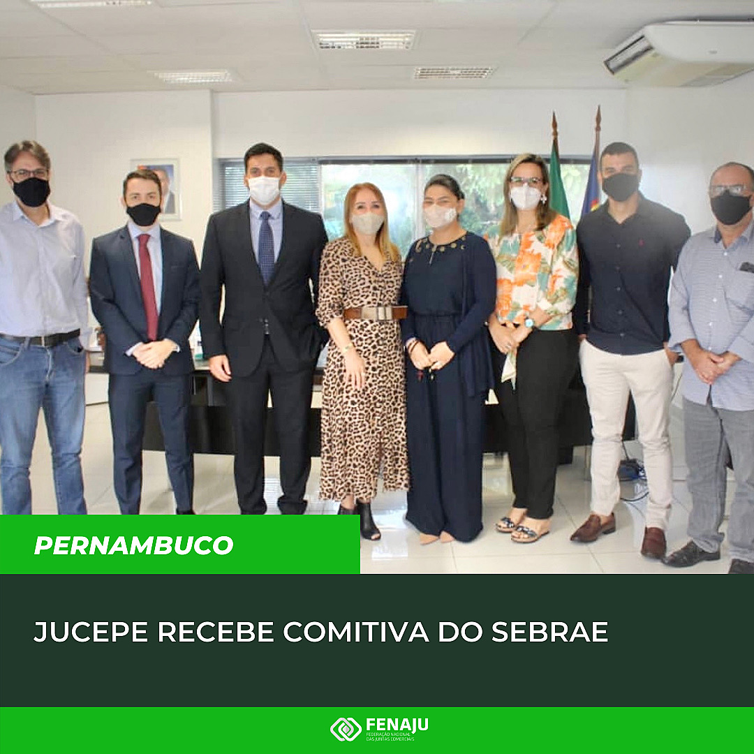 You are currently viewing JUCEPE recebe comitiva do SEBRAE