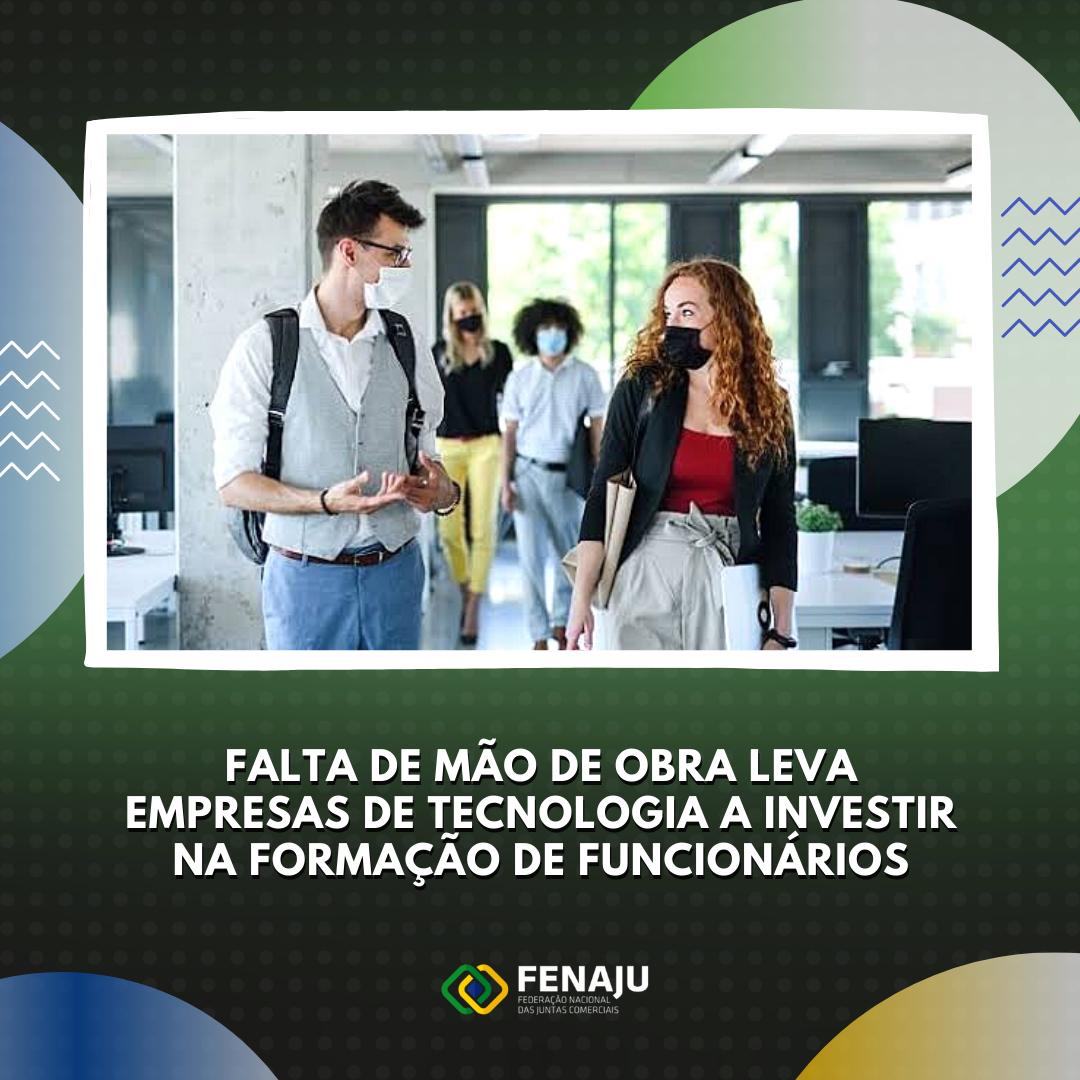 You are currently viewing Falta de mão de obra leva empresas de tecnologia a investir na formação de funcionários