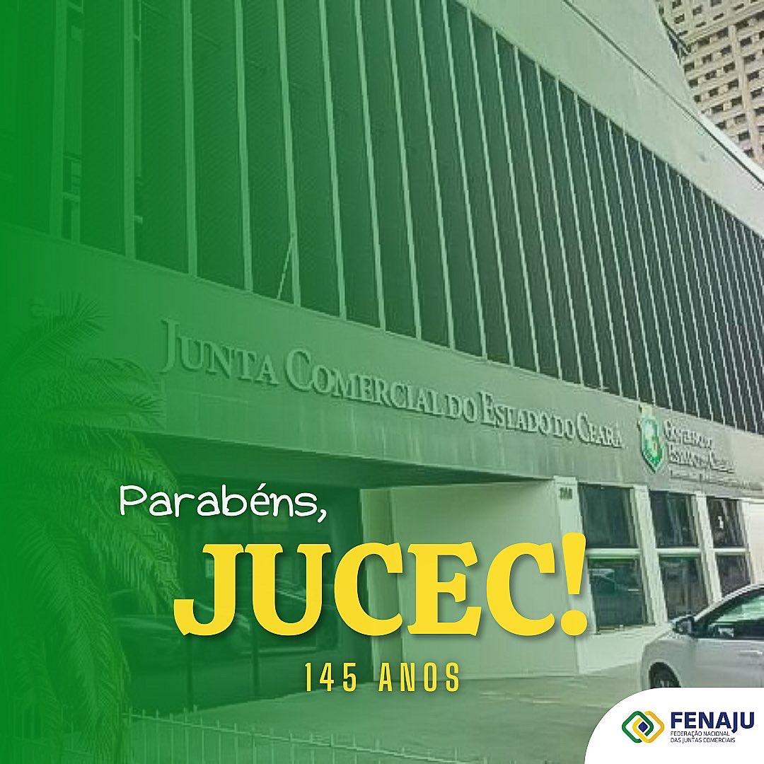 JUCEC – 145 anos