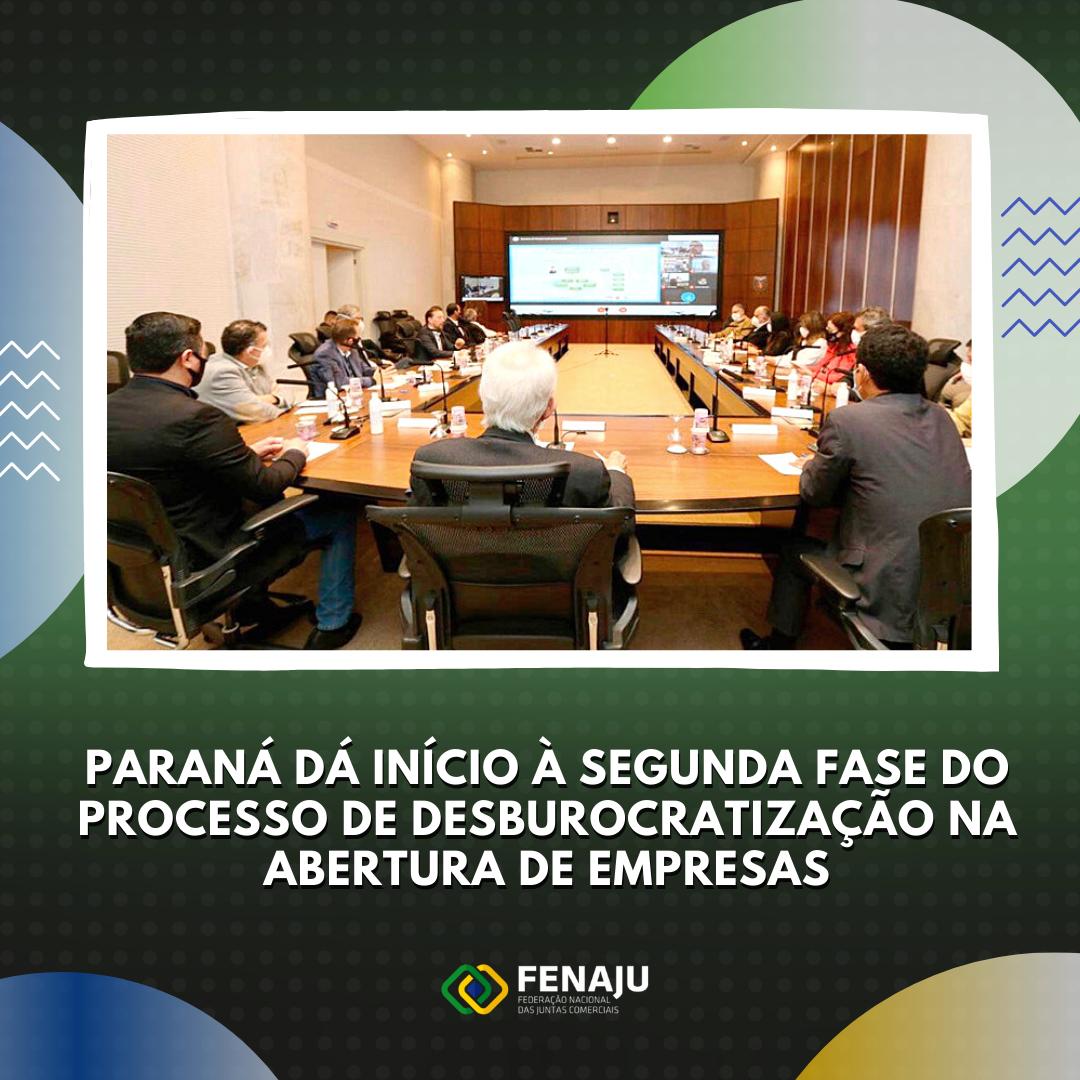 Read more about the article Paraná dá início à segunda fase do processo de desburocratização na abertura de empresas