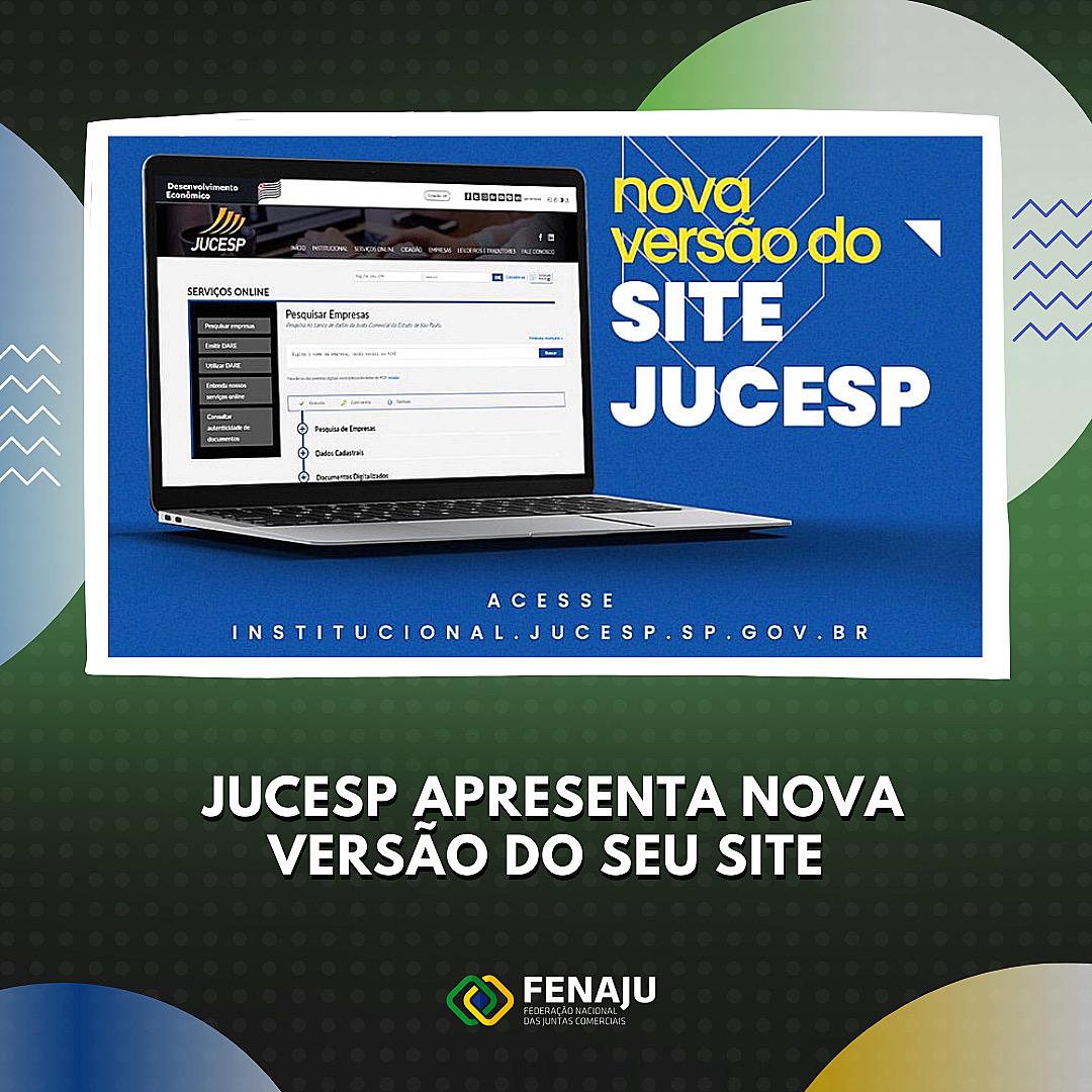 JUCESP apresenta nova versão do seu site