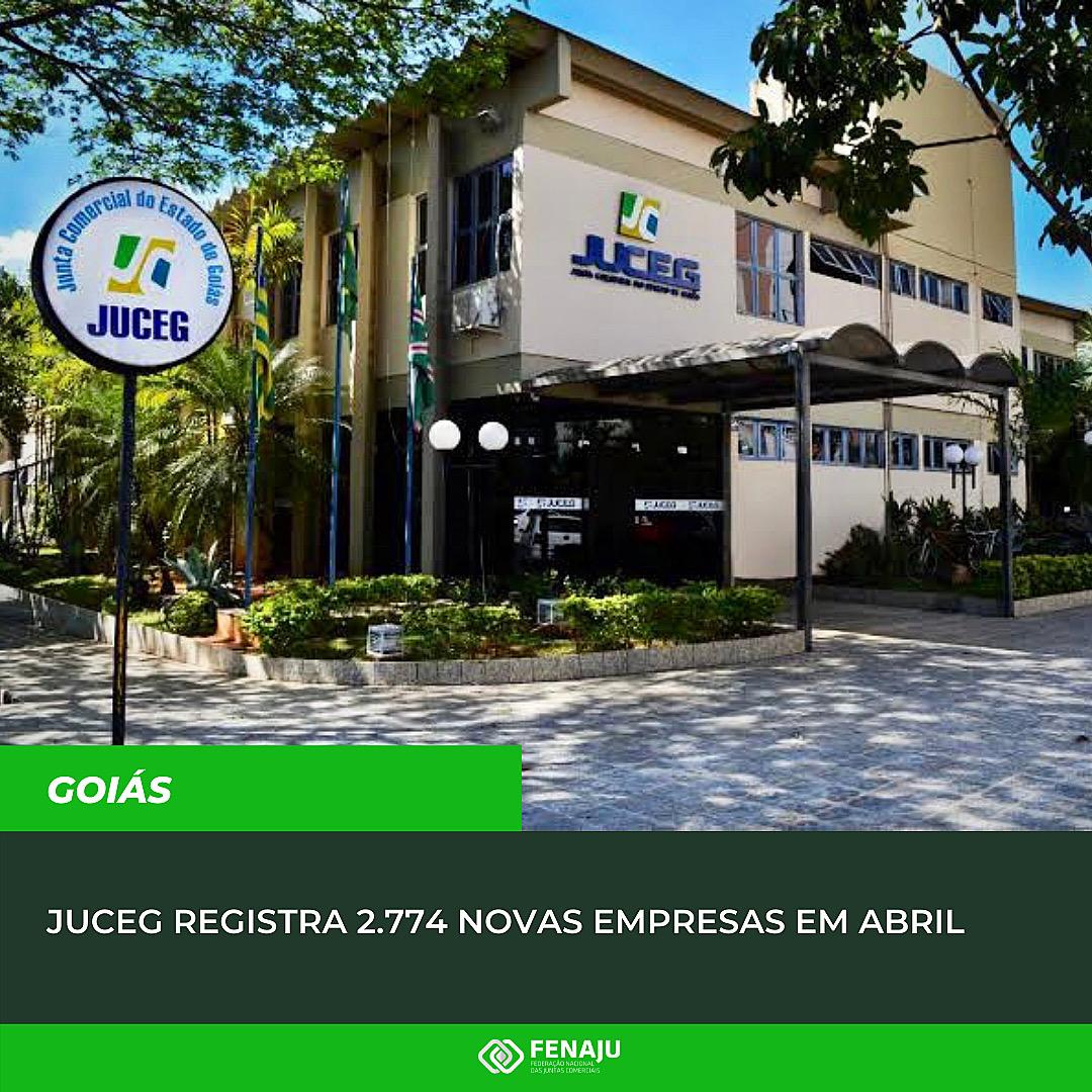 Read more about the article JUCEG registra 2.774 novas empresas em abril