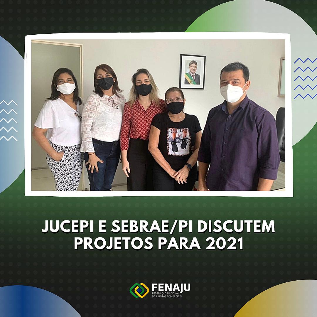 JUCEPI e SEBRAE/PI discutem projetos para 2021