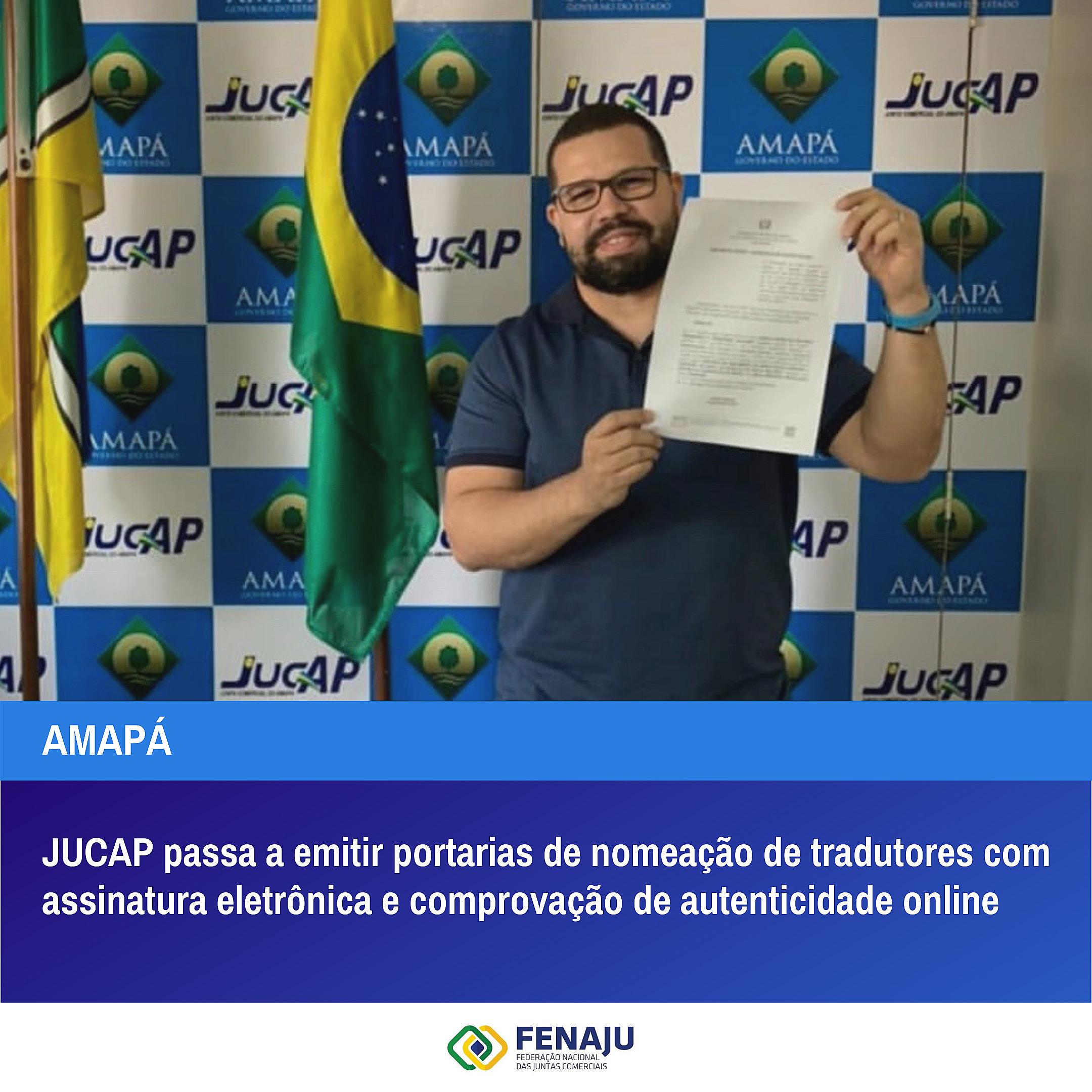 You are currently viewing JUCAP passa a emitir portarias de nomeação de tradutores com assinatura eletrônica e comprovação de autenticidade online