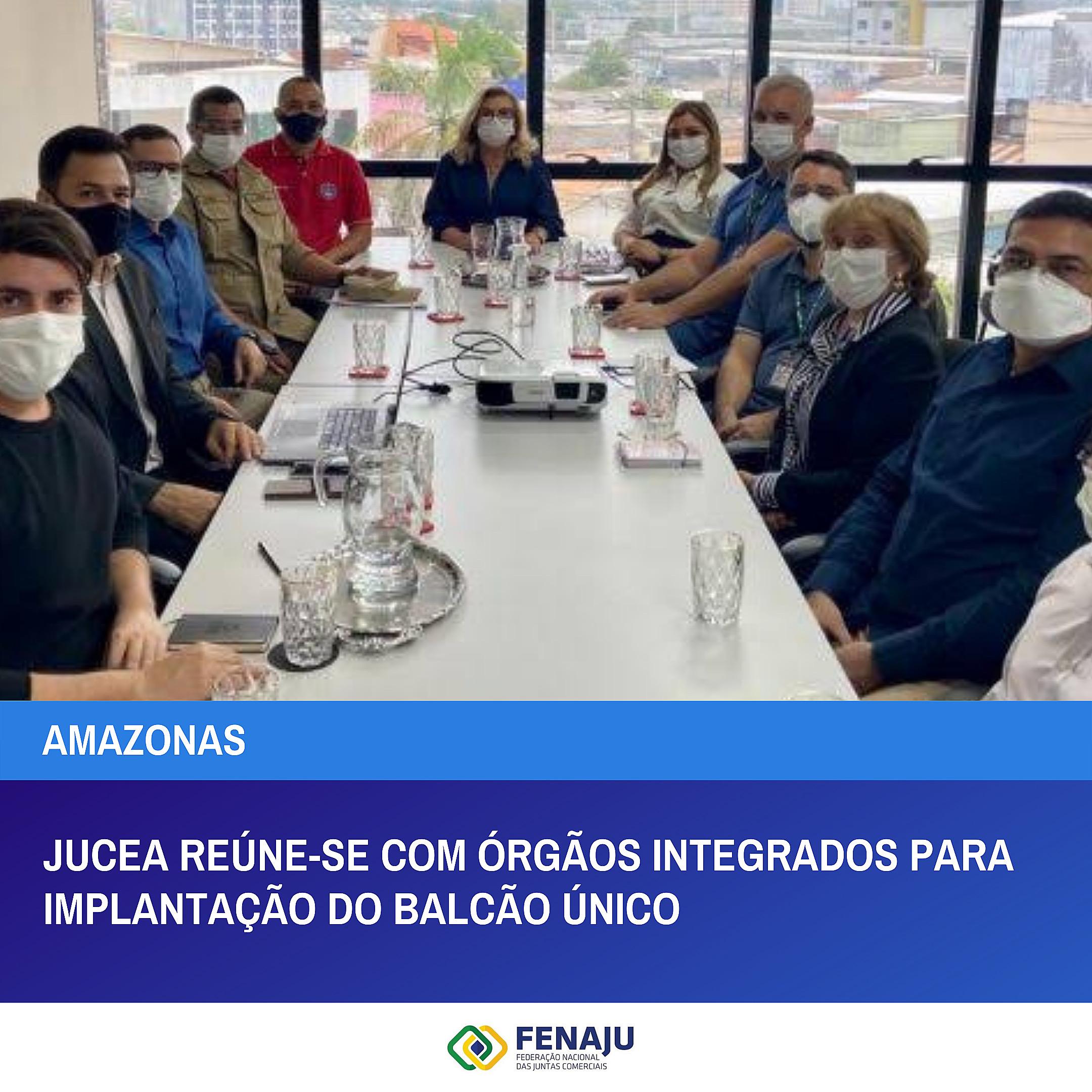 You are currently viewing Jucea reúne-se com órgãos integrados para implantação do Balcão Único