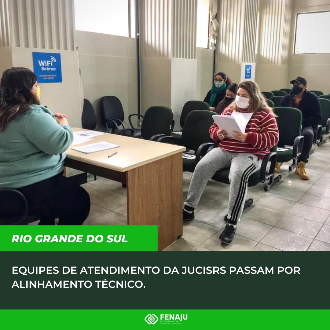 You are currently viewing Equipes de atendimento da JucisRS passam por alinhamento técnico