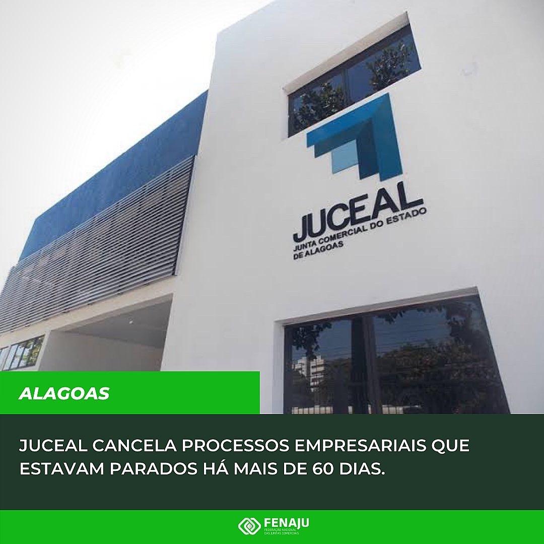 Read more about the article JUCEAL cancela processos empresariais que estavam parados há mais de 60 dias