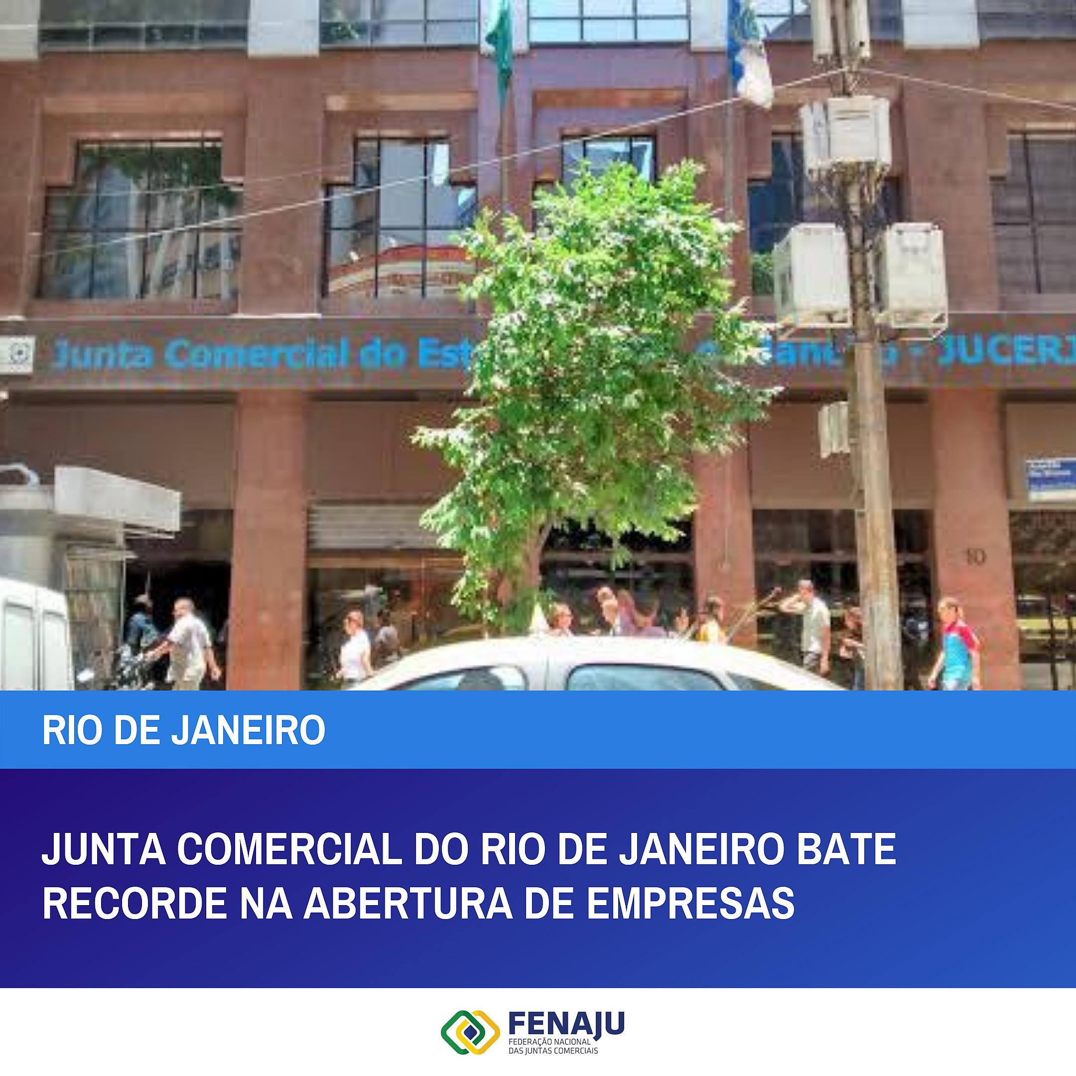Read more about the article Junta Comercial do Rio de Janeiro bate recorde na abertura de empresas