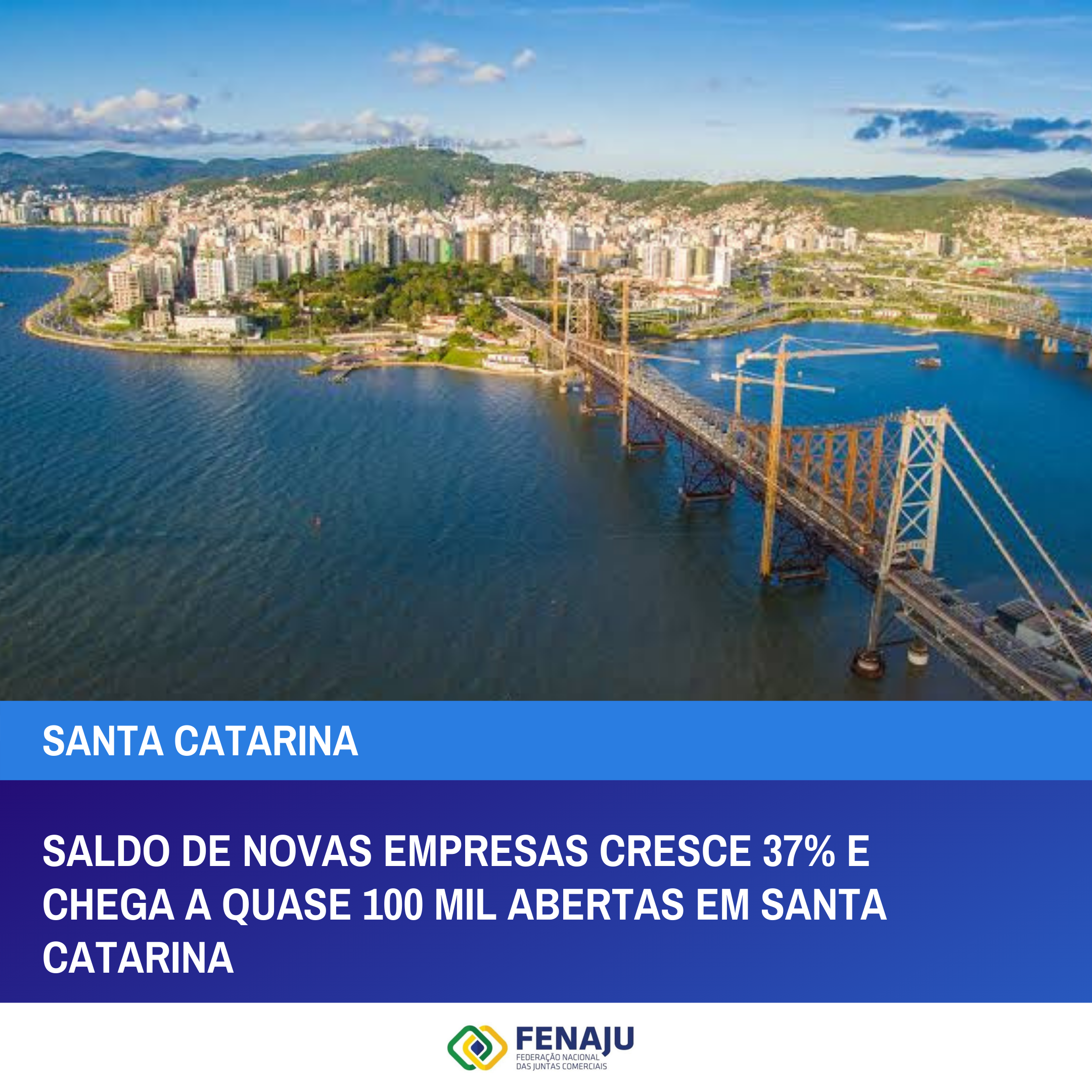 Read more about the article Saldo de novas empresas cresce 37% e chega a quase 100 mil abertas em Santa Catarina